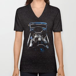 1932 Ford Hot Rod - Motor Unisex V-Neck