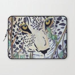 Never Resting - Leopard by Maureen Donovan Laptop Sleeve