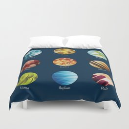 Away from Home and Back - dark Duvet Cover