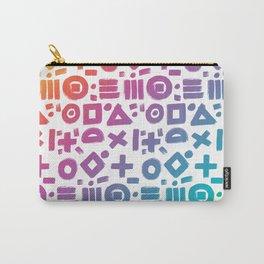 rainbow geometrics Carry-All Pouch