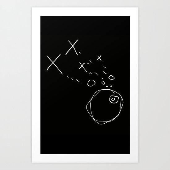 X--O Darkside Art Print