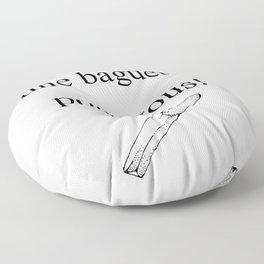 Mon Dieu! Floor Pillow