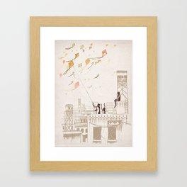Komal Framed Art Print