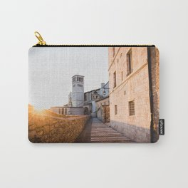 Sunset over Assisi Carry-All Pouch