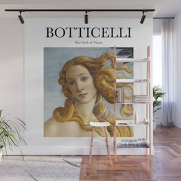 Botticelli - The birth of Venus Wall Mural