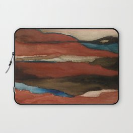 """""""a dark february"""" abstract watercolor painting Laptop Sleeve"""