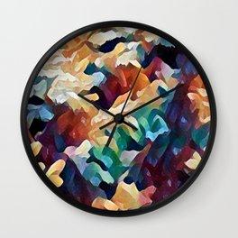 Sea Salad I Wall Clock