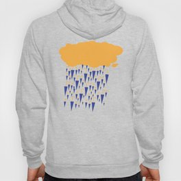 raining umbrellas Hoody