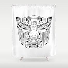 Tech auto Shower Curtain