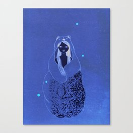 Bear Child Canvas Print