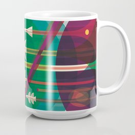 NASA Retro Space Travel Poster The Grand Tour Coffee Mug