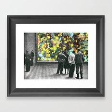 Scandalo alla mostra d'arte  Framed Art Print