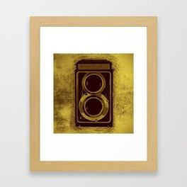 Retro Vintage Kodak Camera Framed Art Print