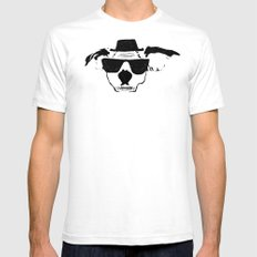 THE BUDDIE x HEISENBERG SMALL White Mens Fitted Tee