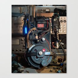 """Ghostbusters - """"Workbench"""" 3 Canvas Print"""