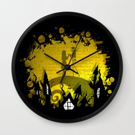 Jack Skellington and Sally Wall Clock