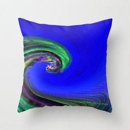 """""""Night Wave"""" Photograph Throw Pillow"""