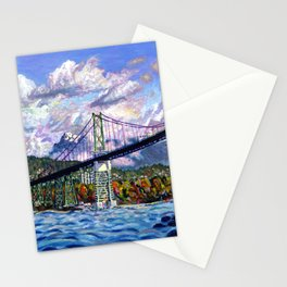 The Lions Gate, Vancouver Stationery Cards