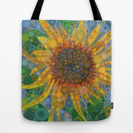 Percolated Sunflower Tote Bag