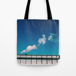 chimney smoke Tote Bag