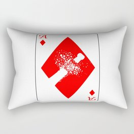 Ace of Diamonds Rectangular Pillow