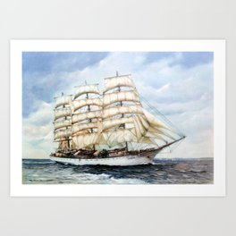 Regata Cutty Sark/Cutty Sark Tall Ships' Race Art Print