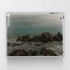 Dark Blue Rocky Ocean Laptop & iPad Skin