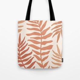 Modern Leaves Tote Bag