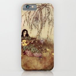 Beauty Had A Brave Heart By Edmund Dulac iPhone Case