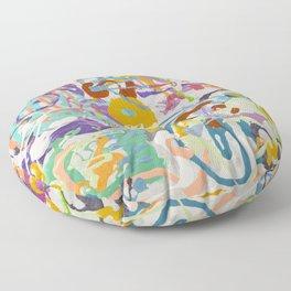 Shamanic Painting 09 Floor Pillow