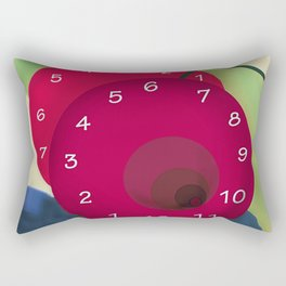 Brexit - Clocks ticking for May - shoes stories Rectangular Pillow