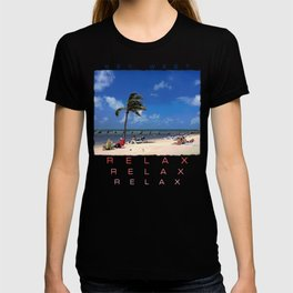 Beach with Coconut Palm T-shirt