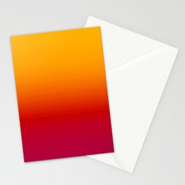 sunSET Ombre Gradient Stationery Cards