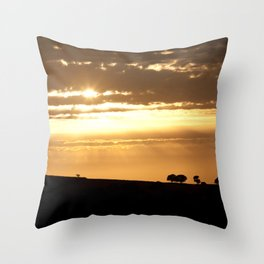 Somewhere, Sometime Throw Pillow