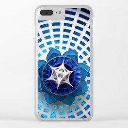 Divine Design Clear iPhone Case