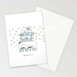 Mind War Stationery Cards