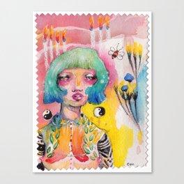 Flame Pollinator Canvas Print
