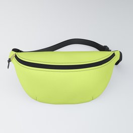 Florescent Yellow Fanny Pack