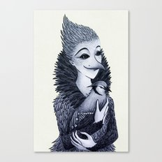 Blue Jayne Canvas Print