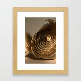 Onion's Death Framed Art Print