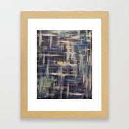 A la croisée de nos chemins Framed Art Print