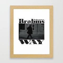 Brahms Way Framed Art Print