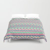 hearts Duvet Covers featuring Hearts by Lydia Meiying