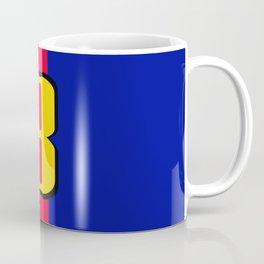 football team 1 number eight Coffee Mug