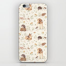 Meadow and Fawn iPhone Skin