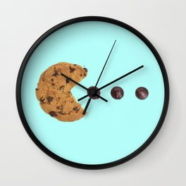 PACKMAN COOKIE Wall Clock