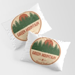 Green Mountain National Forest Pillow Sham