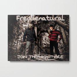 Freddienatural Metal Print