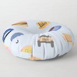 Gilmore Girls World Floor Pillow