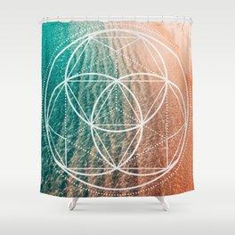 Geometry #1 Shower Curtain